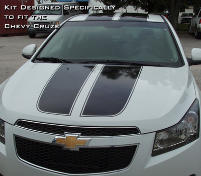 2008-2015 Chevrolet Cruze Cruzin' Rally Stripe Kit