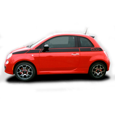 2011-2016 Fiat 500 SE5 Graphic Stripe Kit