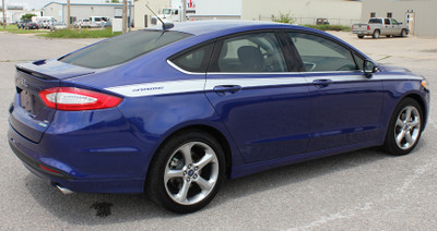 Ford Fusion Topside Graphic Kit Diagonal View