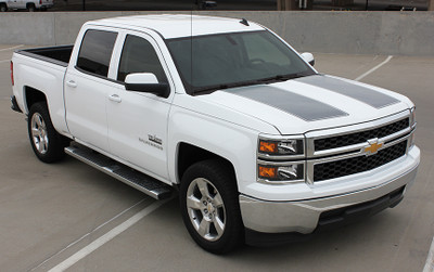2013-2015 Chevy Silverado 1500 Rally Stripe Kit