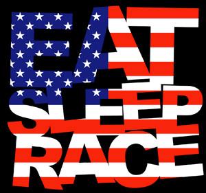 eat sleep race logo - photo #13