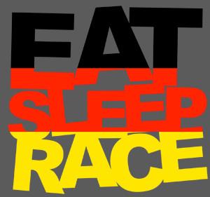eat sleep race logo - photo #14