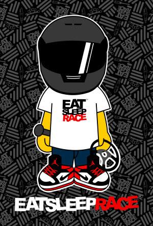 eat sleep race logo - photo #34