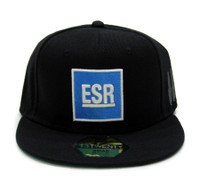 ESR Square Snapback Hat | Blue/White