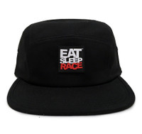 Logo 5-Panel Hat | Black