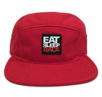 Logo 5-Panel Hat   Red