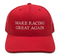 Make Racing Great Trucker Hat | Red