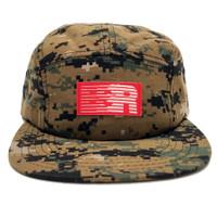 ESR 5-Panel Hat | Digi Camo