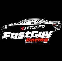Fast Guy Racing Vinyl Decal | Pre-Order