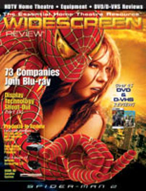 Widescreen Review Issue 091 - Spider-Man 2 (December 2004)