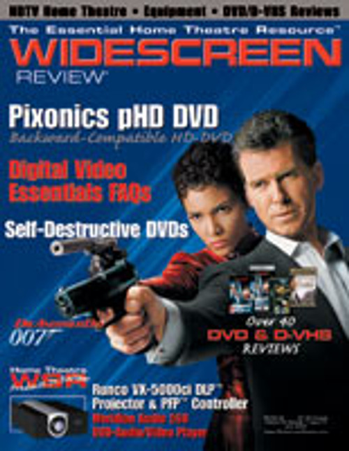 Widescreen Review Issue 074 - Die Another Day (July 2003)
