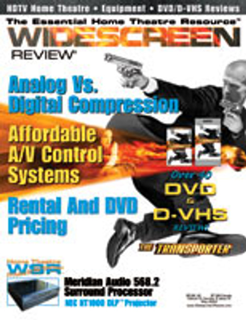 Widescreen Review Issue 072 - The Transporter (May 2003)