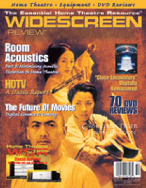 Widescreen Review Issue 050 - Crouching Tiger, Hidden Dragon (July 2001)