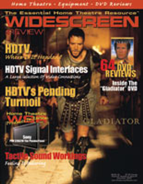 Widescreen Review Issue 044 - Gladiator (December 2000)