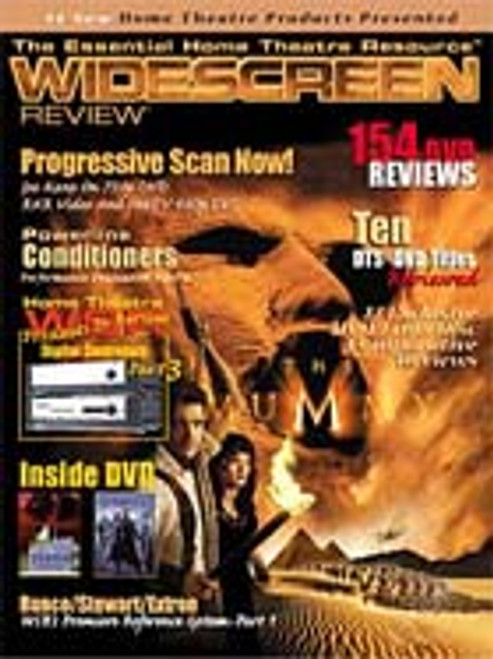 Widescreen Review Issue 034 - The Mummy (September 1999)
