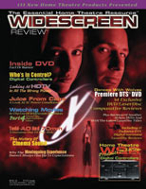 Widescreen Review Issue 030 - The X Files (January 1999)