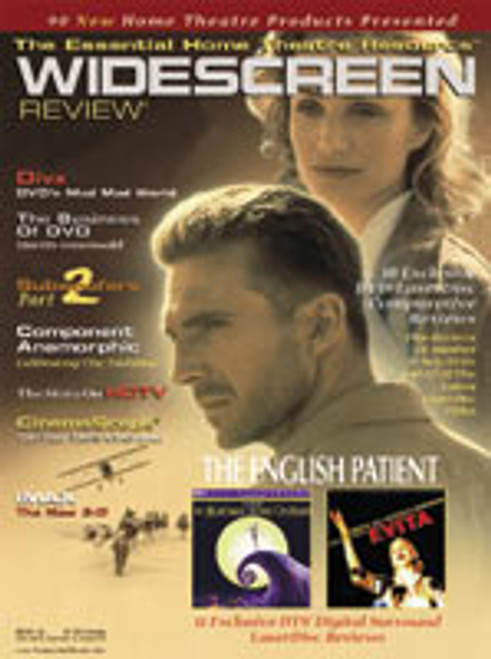 Widescreen Review Issue 026 - The English Patient (December 1997)