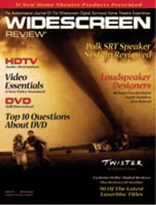 Widescreen Review Issue 021 - Twister (October 1996)