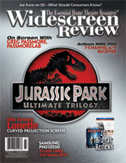 Widescreen Review Issue 159 - Jurassic Park (September 2011)
