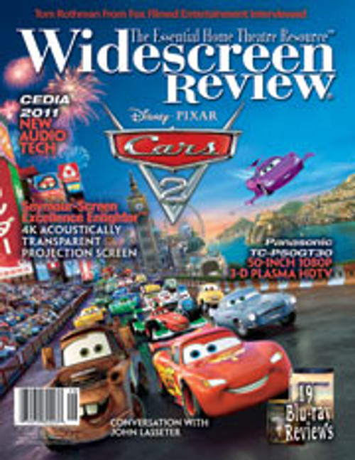 Widescreen Review Issue 161 - Cars 2 (November 2011)
