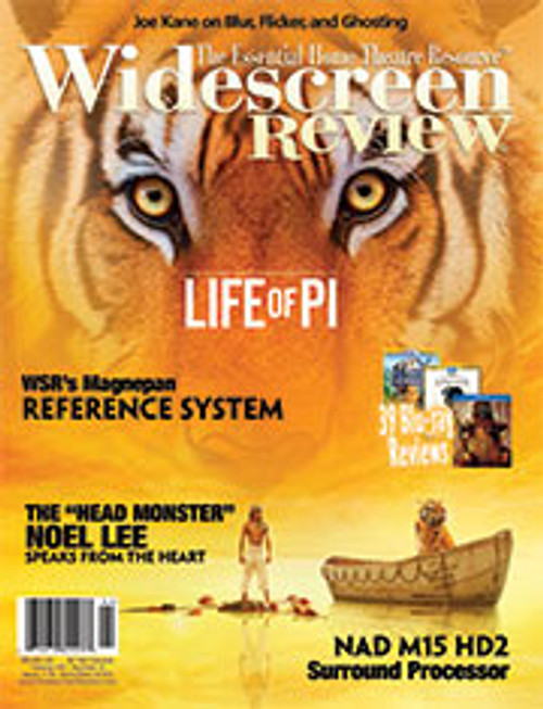 Widescreen Review Issue 176 - Life Of Pi (April/May 2013)
