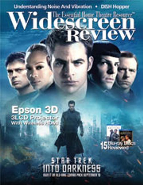 Widescreen Review Issue 179 - Star Trek Into Darkness (September 2013)