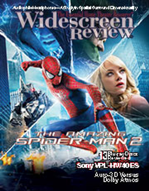Widescreen Review Issue 189 - The Amazing Spider-Man 2 (September 2014)