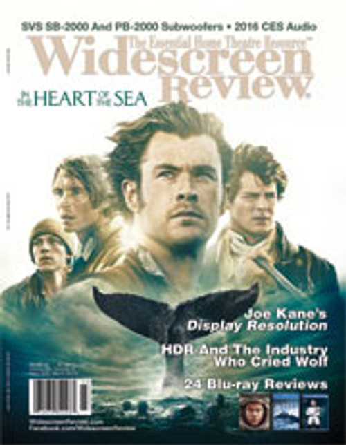 Widescreen Review Issue 205 - In The Heart Of The Sea (March 2016)
