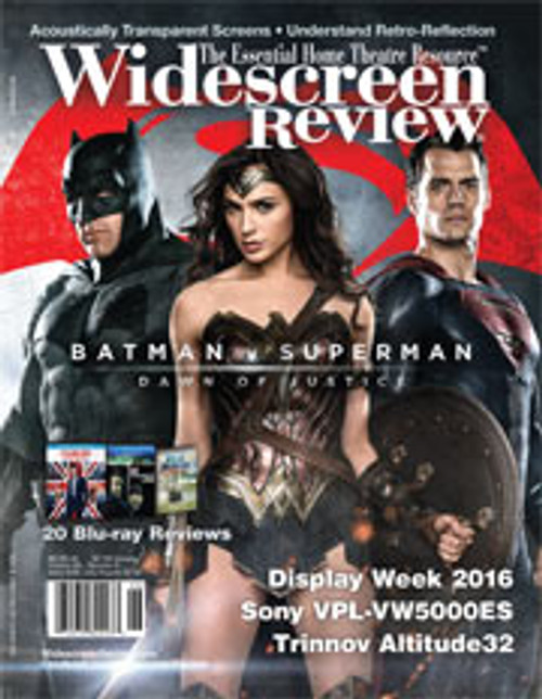 Widescreen Review Issue 208 - Batman v Superman (July/August 2016)