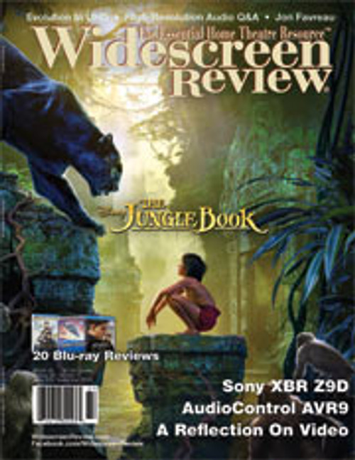 Widescreen Review Issue 209 - The Jungle Book (September 2016)