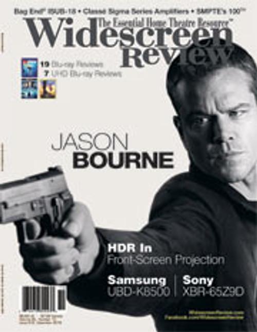 Widescreen Review Issue 212 - Jason Bourne (December 2016)