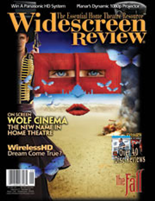 Widescreen Review Issue 134 - The Fall (September 2008)