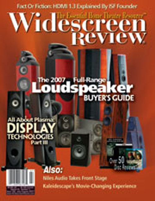 Widescreen Review Issue 122 - Loudspeaker Buyer‰Ûªs Guide (July/August 2007)