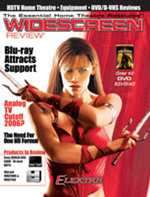 Widescreen Review Issue 096 - Elektra (May 2005)