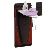 Corby 6600 Trouser Press & Iron in Mahogany
