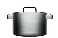 "Iittala ""Tools"" by Dahlstrom 3lt. Casserole Pan with Lid"