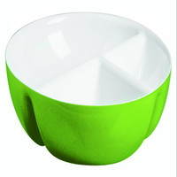Guzzini Two-tone hor-d'oeuvres dish in Green