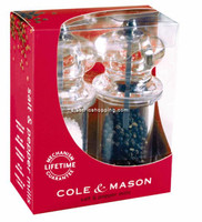 Cole & Mason 575 Salt & Pepper Mills Giftset