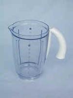 Acrylic Goblet (1.5 Litre, White Trim)