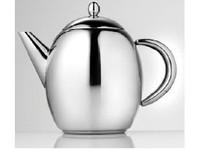 La Cafetiere Paris Teapot 1.0 lt In Stainless Steel