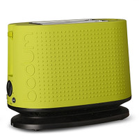 Bodum Bistro 2 Slice Toaster in Lime Green