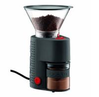 Bodum Bistro Electric Burr Coffee Grinder in Black