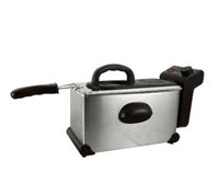 Lloytron E6610SS 3.5ltr Stainless Steel Oblong Fryer