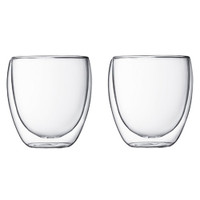 Bodum Pavina Double Wall Glasses Set 0.25L