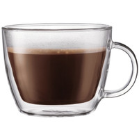 Bodum Bistro Glass Cafe Latte Cup Set