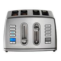 Cuisinart CPT445U 4 Slice Brushed Stainless Steel Digital Toaster
