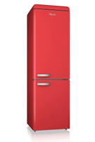 Swan SR11020RN Retro Fridge Freezer in Red