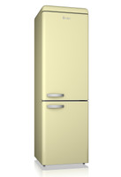 Swan SR11020CN Retro Fridge Freezer in Cream
