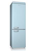 Swan SR11020BLN Retro Fridge Freezer in Blue