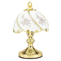 Lloytron Traditional Touch Table Lamp - Rose Design
